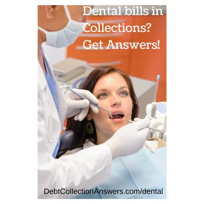 Dental Bills in Collections