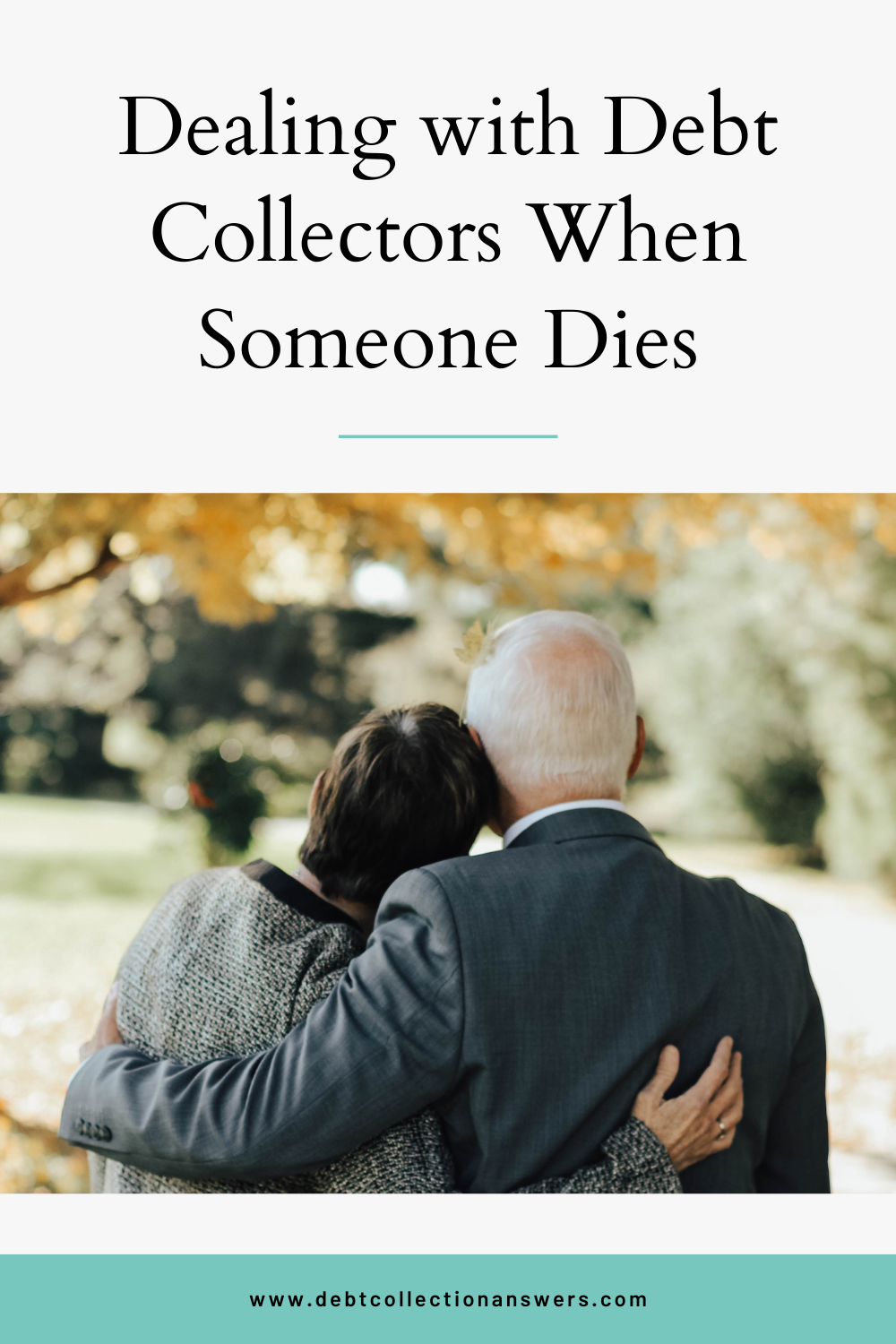 Dealing with Debt Collectors When Someone Dies