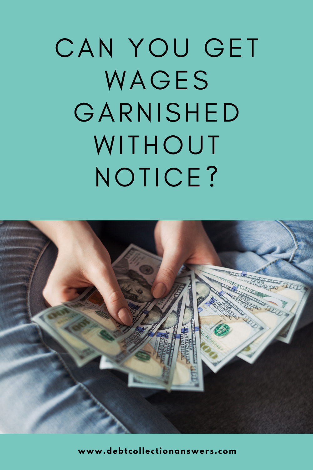 wages garnished without notice